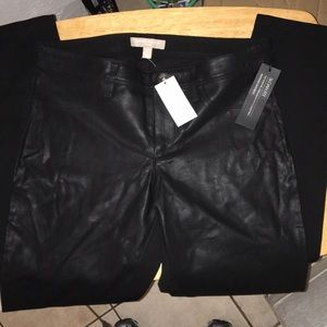 Nwts Banana Republic Black Pants Skinny stretch 4